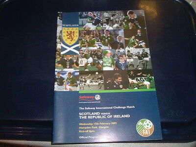 Scotland v Republic of Ireland Feb 2003
