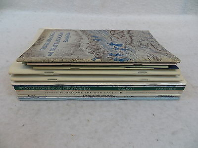 Lot of 13 CIVIL WAR BOOKLETS, BOOK CATLOGS,  MAGAZINES