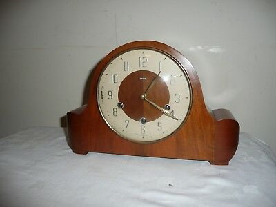Smiths, Westminster Chimes Mantle Clock, Excellent Original Condition & Working.