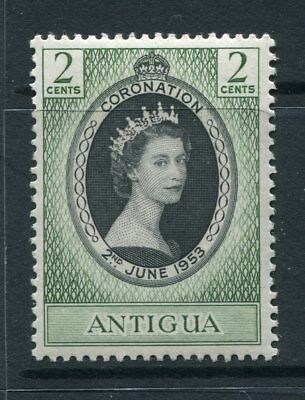 Antigua: 1953 Queen Elizabeth II Coronation Stamp SG120 MNH AW223