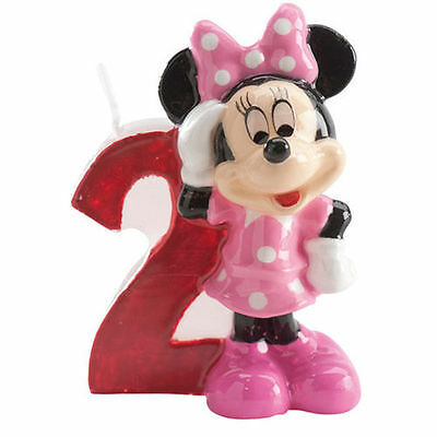 Minnie Mouse Kinder 2. Geburtstags Kerze torte Disney torten deko