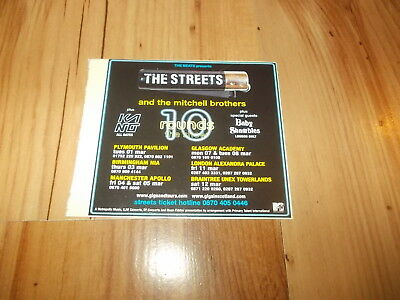The Streets-2005 UK Tour-magazine advert