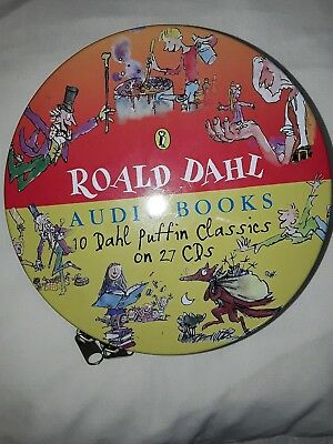 Ronald Dahl audio books 10 classics on 27 cms Kids films