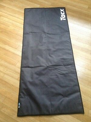 Tacx Trainer Mat (Foldable) ONE SIZE BLACK
