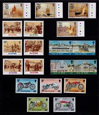 IoM 1987 Commemoratives Collection, MNH