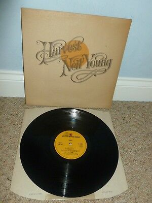 NEIL YOUNG Harvest LP 1972 UK 1st Press STEREO REPRISE K 54005 MINT
