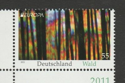 Germany 2011 Europa Forests SG 3716 MNH