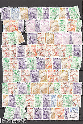 Vietnam older Postage stamps Going On A 5968