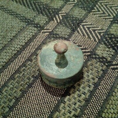 Old scale 5 dkg bronze weight from 16-17 century