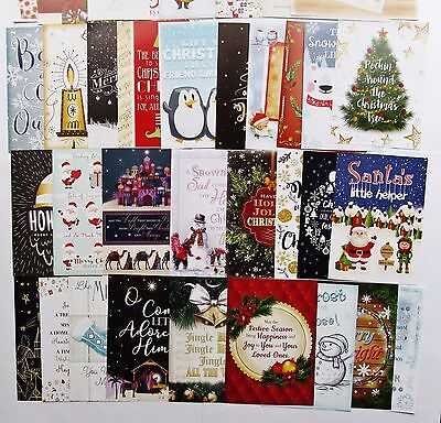 Hunkydory Little Book of Christmas Wishes Verses & Sentiments Toppers x 24 Sheet