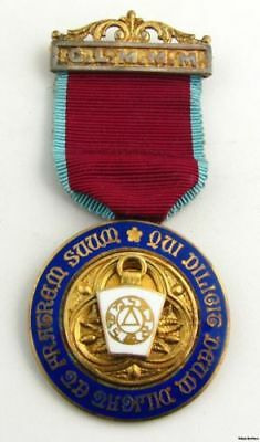 GLMMM Royal Arch Medal - Masonic York Rite Vintage Spencer & Co London Jewel