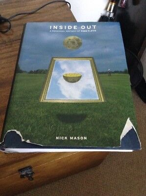 Inside Out - A Personal History Of Pink Floyd by Nick Mason - Signed Copy HB