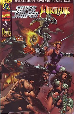 Silver Surfer / Witchblade: Devil's Reign #1/2 ~ Wizard / Marvel Comics / Topcow