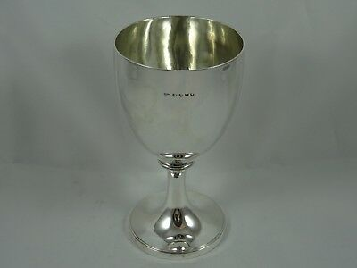 FINE, GEORGE III silver WINE GOBLET, 1814, 227gm