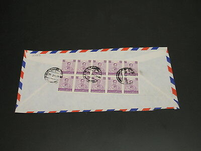 Thailand 1980s airmail cover to Finland *30059