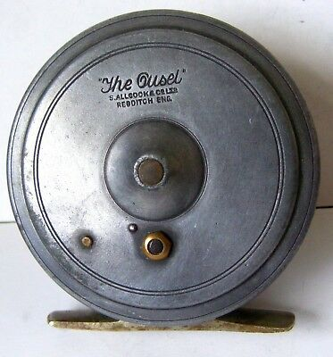 "ALLCOCK'S ""THE OUSEL"" 3inch FLY REEL MADE BY WALTER DINGLEY"
