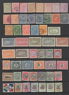 Dominican Republic early collection , 71 stamps.