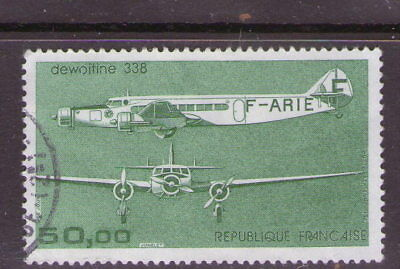 "French ""Aircraft"" stamp.   Cat. £8.     49p ask."