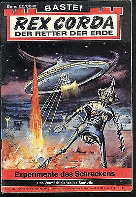 Rex Corda Der Retter der Welt Nr.22 von 1967 - Z1-2 Science Fiction Bastei Roman