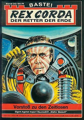Rex Corda Der Retter der Welt Nr.32 von 1967 - TOP Science Fiction Bastei Roman