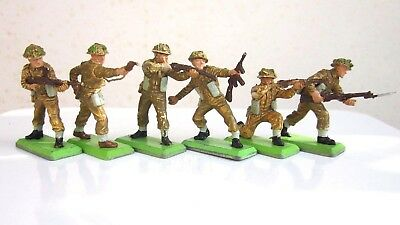 Britains Deetail British Infantry  Full Set of Six