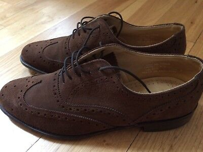 Designer Men's Loake mens  brown Suede  Brogues UK 9  Shoes