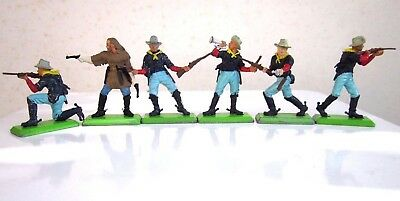 Britains Deetail Full Set of 7th Cavalry with General Custer