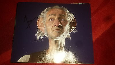 Mark Rylance Hand Signed 10 X 8 Photo Movie The Big Friendly Giant The Bfg Coa