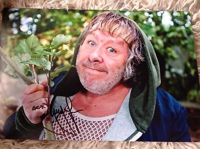 Rab C Nesbitt Gregor Fisher Hand Signed 12 X 8 Photo Tv Show Glasgow Uk Scotland