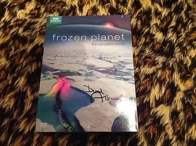 Sir David Attenborough Signed Bbc Dvd Frozen Planet Boxset W Coa Ideal Xmas Gift
