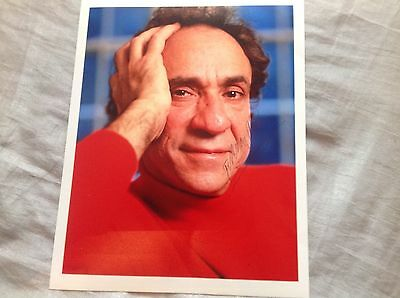 F MURRAY ABRAHAM HAND SIGNED PHOTO 10 x 8 SCARFACE AMADEUS ACTOR COA
