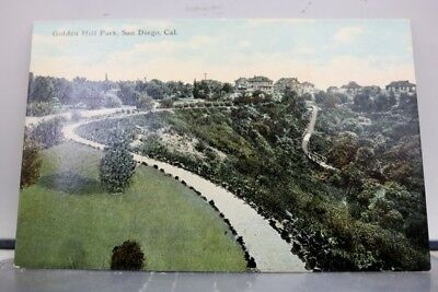 California CA San Diego Golden Hill Park Postcard Old Vintage Card View Standard