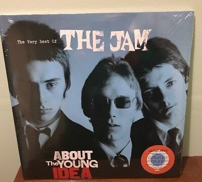 The Jam - About The Bright Idea Red White & Blue Coloured Vinyl LP  New & Sealed