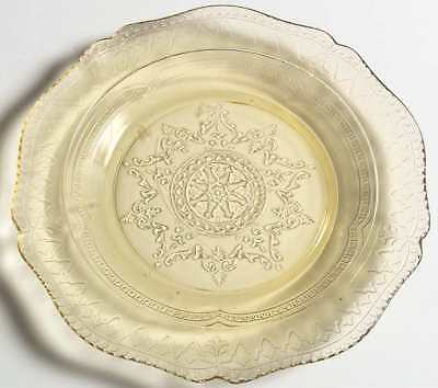 Federal Glass Company PATRICIAN AMBER Salad Plate 1375265