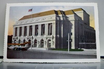 California CA San Francisco Opera House Postcard Old Vintage Card View Standard