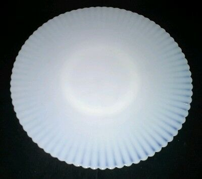 Petalwear Monax Macbeth Evans USA 11 Inch White Salver Plate Ring Base Vintage