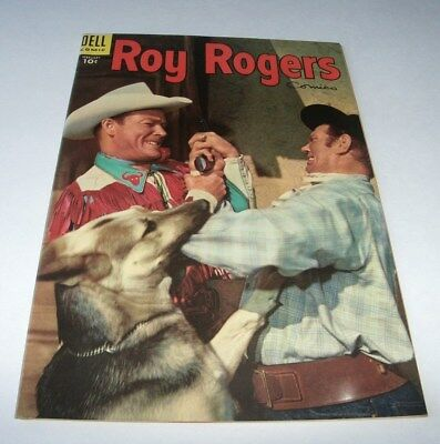 Roy Rogers Comics #86 Mid-Upper Grade Golden Age Western 1955 Dell Comic Book