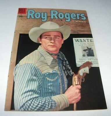 Roy Rogers Comics #88 High Grade Golden Age Western 1955 Dell Comic Book