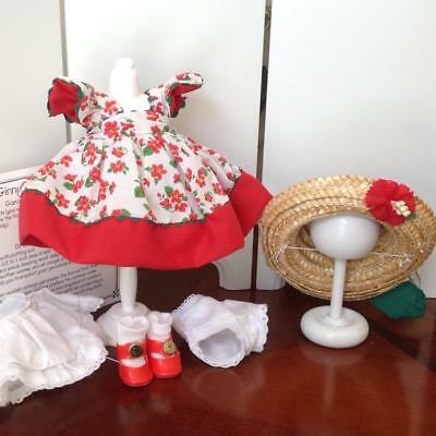 "Pretty ""Geraniums"" Outfit For Modern Ginny Mint"