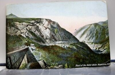 scenic Heart of the Notch Postcard Old Vintage Card View Standard Souvenir Post