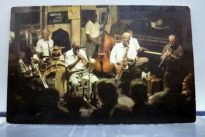 Louisiana LA Preservation Hall New Orleans Postcard Old Vintage Card View Post