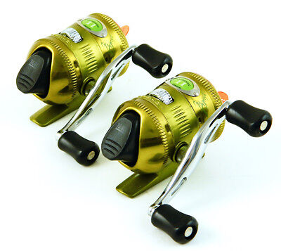 *(Lot Of 2) Zebco 11 Custom 11Dewa-Dew Spincasting Reel Bulk