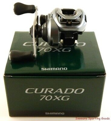 *shimano Curado 70 Cu-70Xg 8.2:1 Gear Ratio Right Hand Baitcast Reel