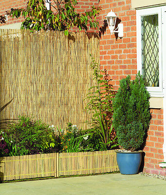 Reed Screening - Reed Screen Fence 4m x 2m