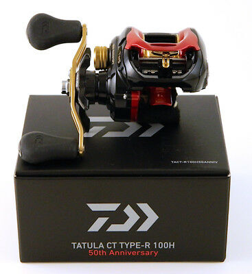 *daiwa Tatula Ct Type R 100H 50Th Anniversary 6.3:1 Right Hand Baitcast Reel