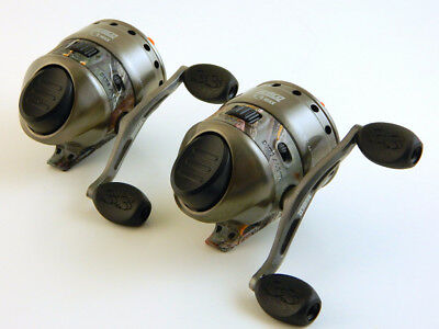*(Lot Of 2) Zebco 33 Max Camo 2016 33Mxk Spincasting Reel Bulk
