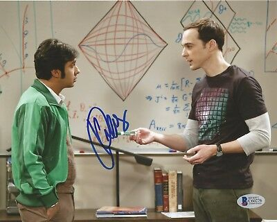 Kunal Nayyar Autographed Signed The Big Bang Theory Raj Bas 8X10 Photo
