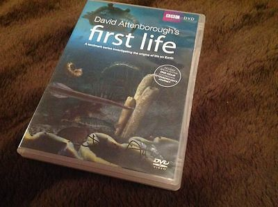Sir David Attenborough Signed Bbc Dvd First Life Wildlife W Coa Ideal Gift