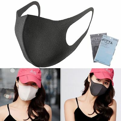 3Pcs/set Earloop Mask Cycling Anti Dust Haze Mouth Face Mask Surgical Respirator