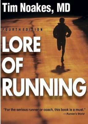 Lore of Running - 4th by Tim Noakes 9780873229593 (Paperback, 2002)